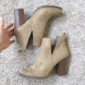 Just Fab Efie Ankle Boot